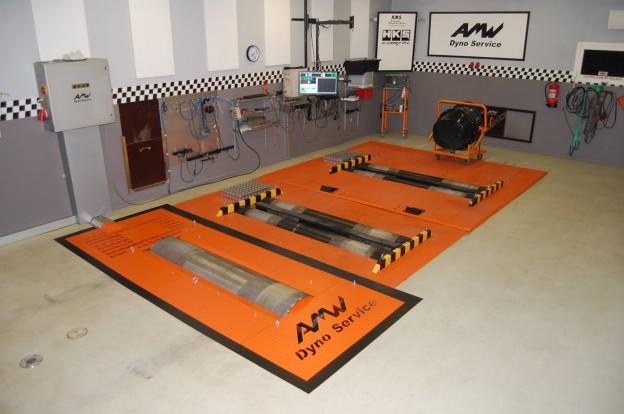 AMW:n uusi 2WD dyno